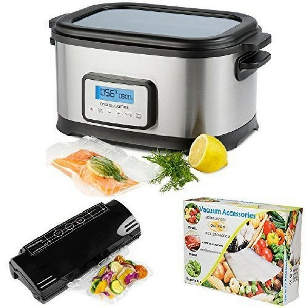 Andrew James Professional Sous Vide Water Bath Cooker Package