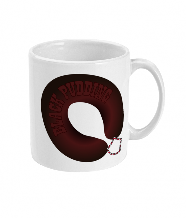 all i want for breakfast is black pudding mug right side mockup