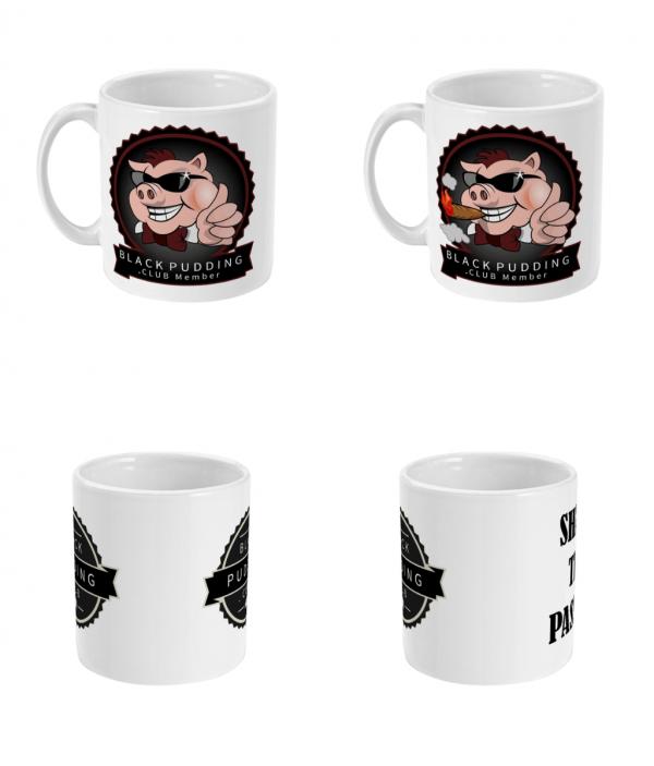 BlackPudding.Club Logo Mugs