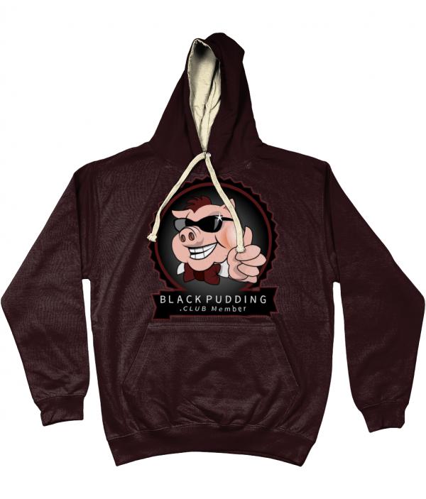 BlackPudding.Club Member Varsity Hoodie