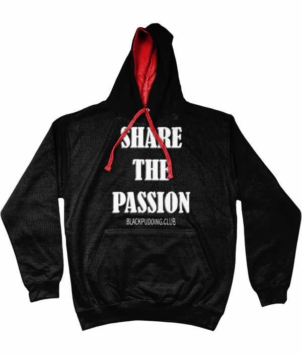 Share the Passion Varsity Hoodie