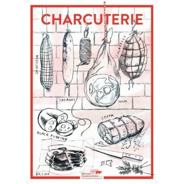 British Charcuterie Live Poster