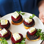 Beetroot and Blue Cheese