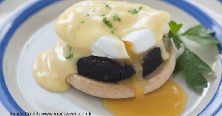 Black Pudding Eggs Benedict