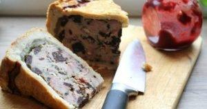 Black Pudding Pork Pie
