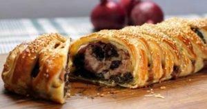 Black Pudding Sausage Plait