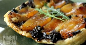 Black Pudding and Apple Tarte Tatin