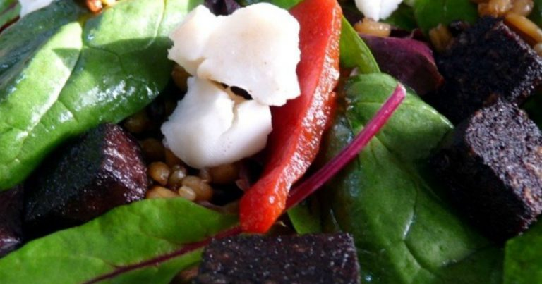Bury Black Pudding Superfood Salad by The Bury Black Pudding Company