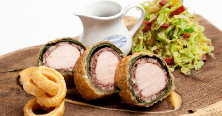 Pork Loin Black Pudding Wellington