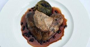 Roast Grouse Black Pudding Crumble