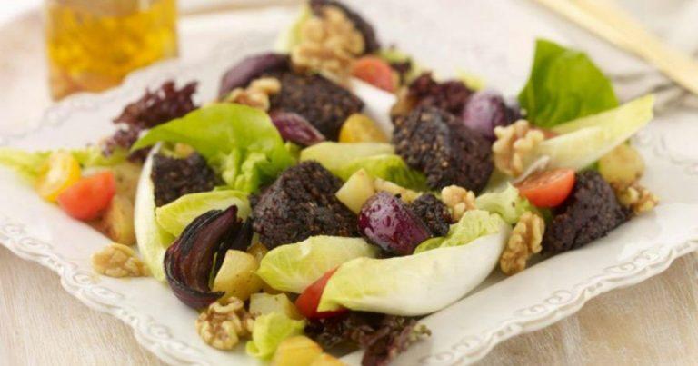 Salad of Clonakilty Black Pudding