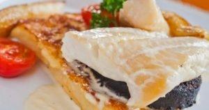 Smoked Haddock and Black Pudding on FrenchToast